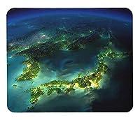 宇宙から見た夜の地球のマウスパッド :フォトパッド( 宇宙シリーズ ) (A:日本)