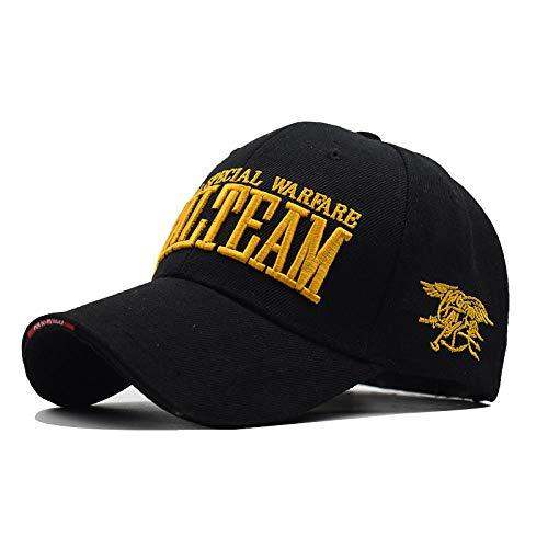 VGFTP® Mode Aivels US Navy Siegel Team Baseball Cap Taktische Kappe Herren Army Goas Verstellbarer Knochen Snapback Hut
