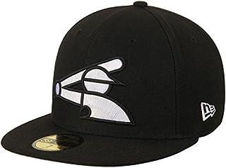 New Era New Era Chicago White Sox Black League Basic 59FIFTY Fitted Hat スポーツ用品 【並行輸入品】