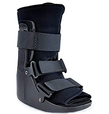 CAM Fracture Walking Boot Short - Complete Recovery, Protection and Healing Boot for Toe, Foot or Ankle Fractures, Sprains and Injuries by Brace Direct - Doctor Recommended Boot from Brace Direct