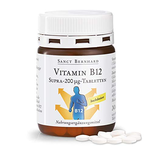 Sanct Bernhard Vitamin-B12-Supra-200-µg-Tabletten