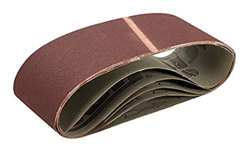 Triton TPTA12885365 Schleifbänder, 100 x 610 mm, 5er-Pack, braun