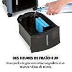 KLARSTEIN Maxfresh - Rafraîchisseur d'air, Humidificateur, Ventilateur, Refroidisseur, 55W, 444 m³/h, 4 Vitesses, 3 Modes, Minuterie jusqu'à 15h, Affichage LED, Réservoir 6L - Bleu #1