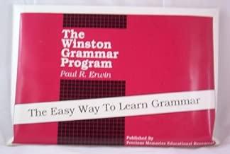 The Winston Grammar Program Basic Level