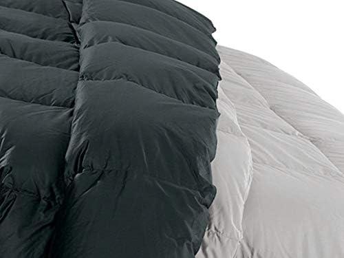 Daunenstep | Couette en Plume Bicolore 270 x 260 Orizzonte