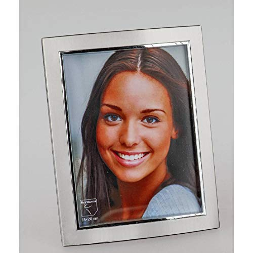 formano Bilderrahmen Fotorahmen Style für 13x18cm Silber matt + glänzend Metall