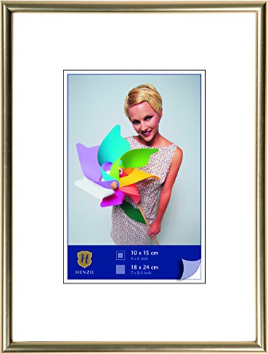Henzo Napoli fotolijst, plastic, goud, 15 x 20 x 2 cm