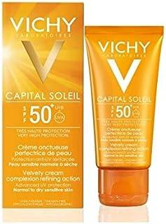 كريم واقي الشمس المخملي بحماية SPF 50 كابيتال سولايل من فيشي – 50 مل