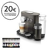 Nespresso De'Longhi Expert Milk EN355.GAE - Cafetera monodosis de cápsulas Nespresso +...