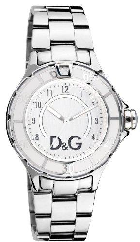 D&G Dolce&Gabbana Herren-Armbanduhr NEW ANCHOR SILVER DIAL SS BRC CASE SS W/WHITE E DW0512