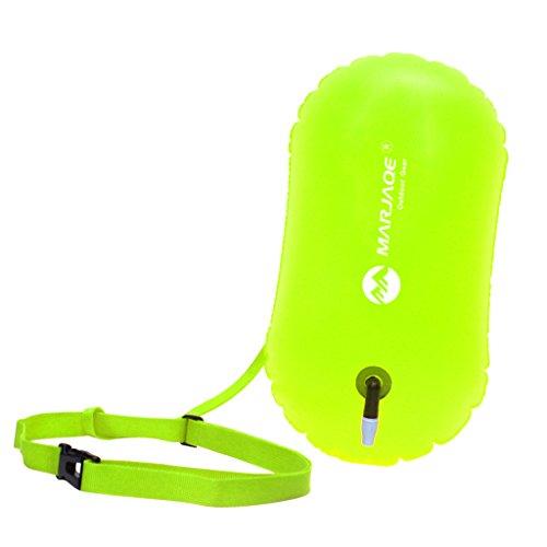 Sharplace Tragbar Aufblasbare Boje Schwimmboje Rettungsboje für Open Water Schwimmer Triathleten Kajakfahrer Schnorchler Taucher
