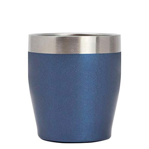 MIRA - Vaso de acero inoxidable para whisky de 12 onzas, con aislamiento al vacío, para whisky, café y cócteles, mantiene el calor o el frío durante horas, reutilizable y sin BPA