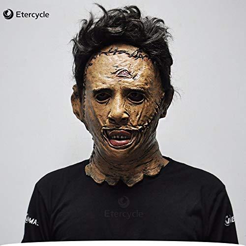 Dodom Die Texas Chainsaw Massacre Leatherface Masken Scary Horror Maske Film Cosplay Masker Halloween Kostüm Requisiten Hohe Qualität Spielzeug