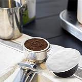 Tazza da caffè in alluminio Set di tazze antiscivolo con filtro opaco Tazza di capsule mo...