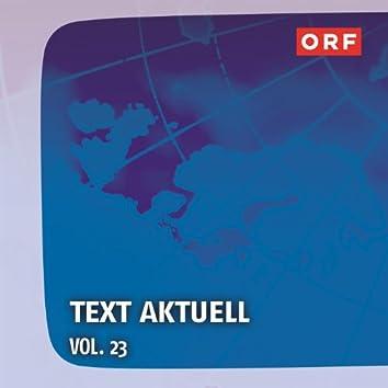 ORF Text aktuell, Vol. 23