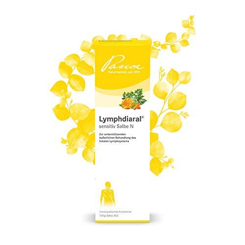 Pascoe® Lymphdiaral sensitiv Salbe N: für das Lymphsystem - bei Infekten von Hals, Nase & Rachen - natürliches Arzneimittel u. a. mit Ringelblume (Calendula) - ohne Paraffin & Vaseline - 100 g
