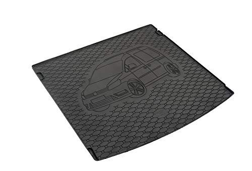 Kofferraumwanne Kofferraummatte Antirutsch RIGUM geeignet für VW Caddy 5-Sitzer 2005-2020 Perfekt angepasst + EXTRA Auto DUFT