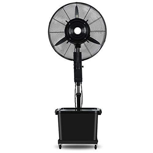 ZRFANS Airconditioning, ventilator, 3-traps, geruisloos, oscillerend, verkoelend, in hoogte verstelbaar, 3-traps 42 liter watertank