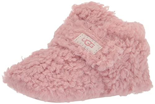 UGG Kids Bixbee (Infant/Toddler) Shell Curly Faux Fur 2/3 (6-12 Months) M