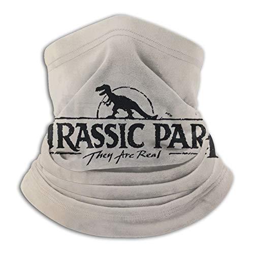 wteqofy Jurassic Park,Neck Gaiter 3D Design Windproof Magic Scarf Mask For Men & Women