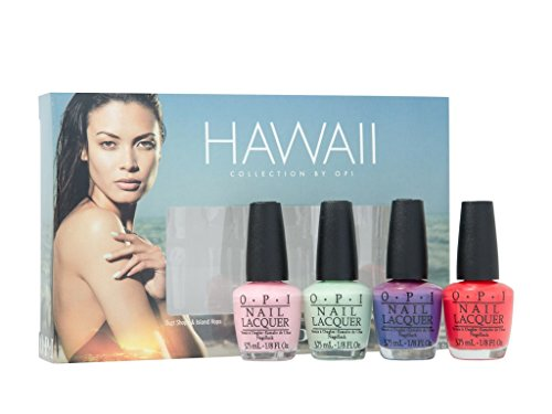 OPI Nail Polish Mini Kit - Hawaii Little Hulas 2015, 1er Pack (1 x 15 ml)