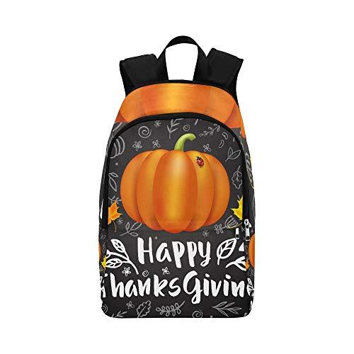 WJJSXKA Large Bookbags for Men Thanksgiving Day Best Harvest Durable Water Resistant Classic Travel Lunch Bag Cooler Travel Bag Kids School Bags for Girls Mens Daypacks