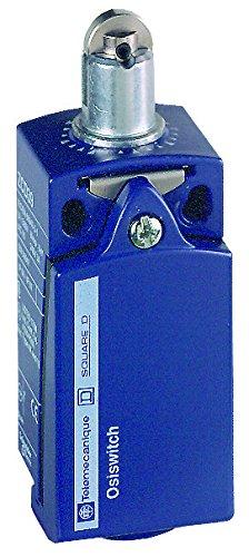 Telemecanique xckd osisense XC estándar interruptor de límite, 1NO 1NC contactos snap-action plata, acero y Top Roller émbolo, ISO M16conducto hilos, cuerpo de metal