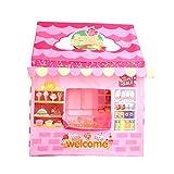 LGRQWER Prinzessin Zelt Kinderzelt Game House Günstig Spielhaus Spielzeug, Für Indoor- Und...