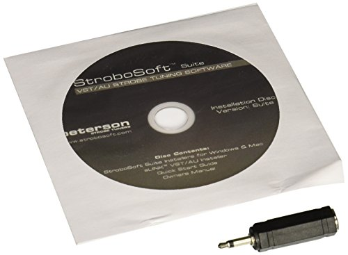 Peterson StroboSoft Software-based Strobe Tuner (Mac/PC CD)