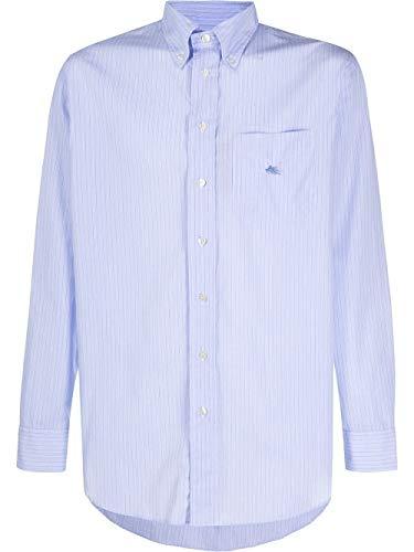 Etro Luxury Fashion Herren 1K2616302250 Hellblau Baumwolle Hemd   Frühling Sommer 20