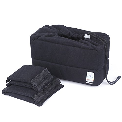 Koolertron Shockproof Camera Photo Bag for SLR SLR TLR Camera Insert Partition Padded Case for Sony Canon Nikon DSLR Shot Or Flash Light