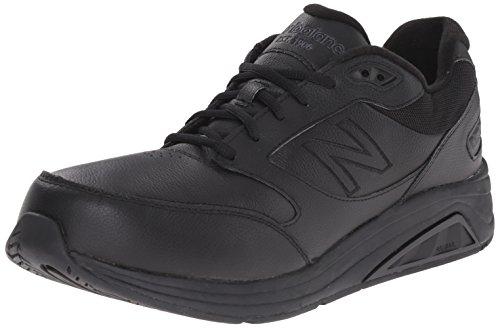 New Balance Men's 928 V2 Walking Shoe, Black, 7.5 D US