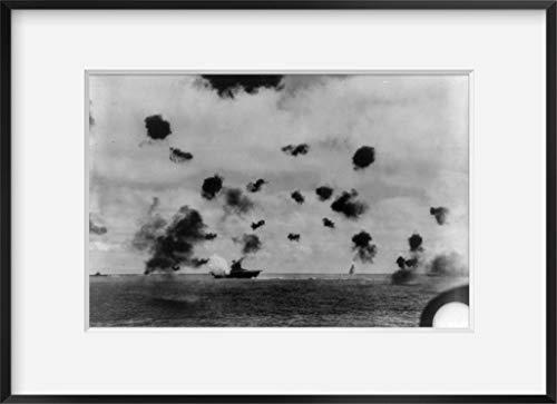 WonderClub Photo: USS Yorktown,CV-5,Battle of Midway,1942,World War 2,II