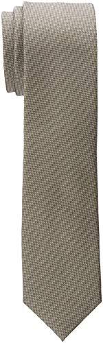 ESPRIT Collection Herren 990EO2Q301 Krawatte, Grün (Dark Green 300), One Size (Herstellergröße: 1SIZE)