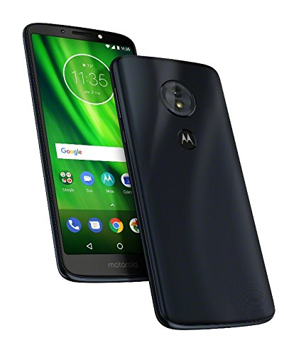 Motorola Moto G6 Play - Smartphone Libre DE 5.7' MAX Vision Full HD, 4.000 mAh de batería, cámara de 13 MP, 3 GB de RAM + 32 GB de Almacenamiento, procesador Snapdragon 430 DE 2.2 GHz, Color Azul