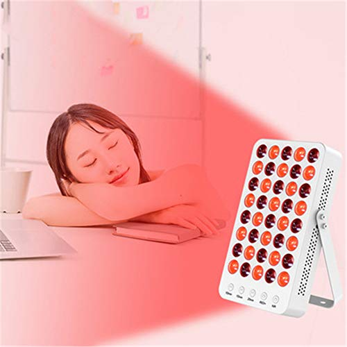Find Discount ZSH Physiotherapy Beauty Lamp,Red Light Therapy for Skin 60W, Therapy Light 660nm 850n...