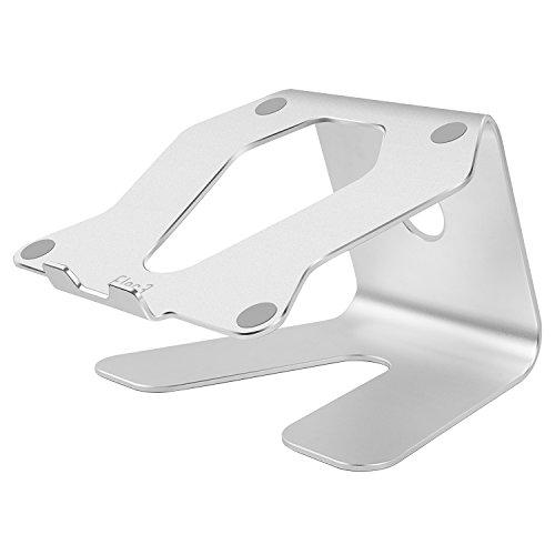 Elec3 Laptop stand, soporte ergonómico de aluminio para laptop / notebook / macbook air / macbook pro - plata