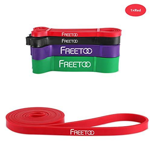 FREETOO フィットネスチューブ エクササイズバンド トレーニングチューブ レギュラータイプ 機器 男性 筋力...