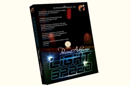 Lightspeed by Persus Arkomanis and Alakzam Magic - DVD