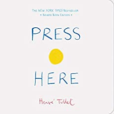 Image of Press Here Board book by. Brand catalog list of Chronicle Books.
