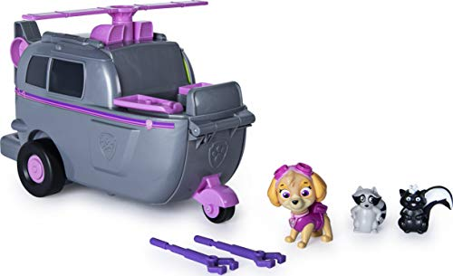 PAW Patrol, Skye's Ride N Rescue, 2-in-1 Transforming Playset and Helicopter, for Kids Aged 3 and Up