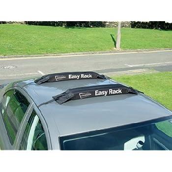Universal Easy Soft Rack Roof Bars Car Van Surfboard Kayak Luggage Ladder