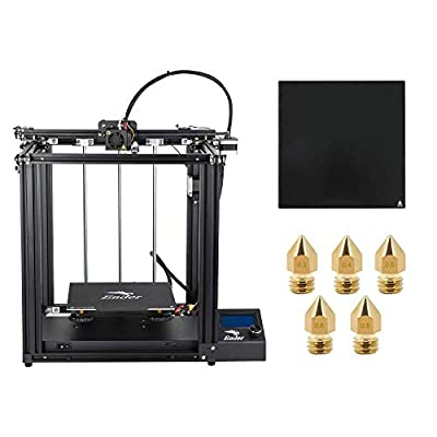 Creality Ender 5 3D Printer with Glass Bed and Five Nozzles 220x220x300mm Printing Size