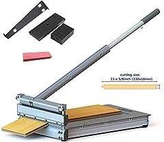 330mm laminat cutter MC-330,Perfekt för parketttyper, laminat, dyrbara träslag, vinylgolv, vinylpaneler, vinylplattor, PVC-vinyl, vinyllaminat, paneler, paneler, kork och mer