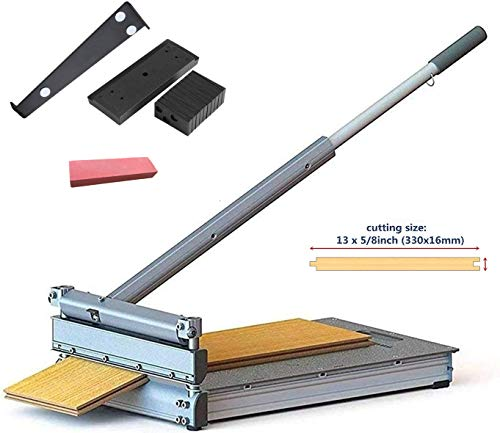 MantisTol 13'' Laminate Flooring & Siding Cutter MC-330 with Installation Kit Gifts, For engineered wood and more. It's the best of its kind!