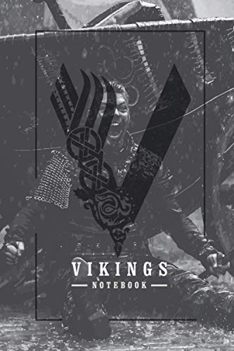 Ivar The Boneless From Vikings TV Show Themed College Ruled Notebook Journal: Gift To Your Dearest Ivar Lover (6'x9', 120 Page, Matte Cover)