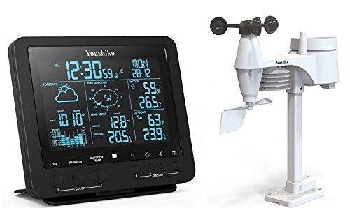 Youshiko Weather Station, Official UK Version (Premium Quality Large LCD HD...