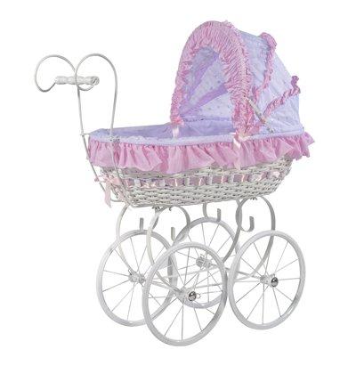 MJmark Belinda Carrito de bebé de juguete