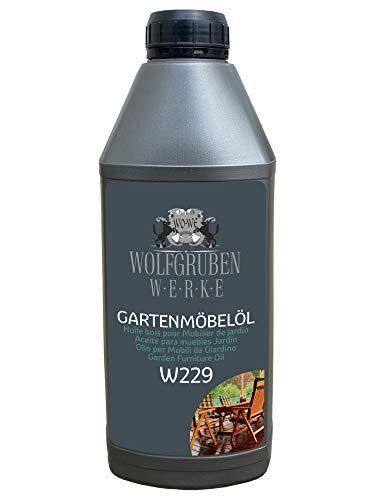 Gartenmöbelöl Möbelöl Terrassenöl Natur Leinöl Holzöl Holzpflege Holzschutz - 1L