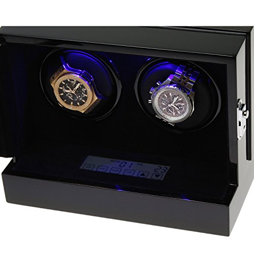 The Fortis Range New Robust Watch Winder for 2 Watches by Aevitas